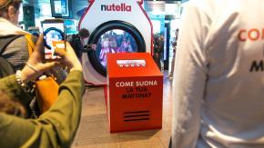Tutte le mattine la stessa musica? Non oggi a Milano grazie a Nutella!