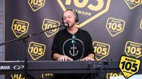 Matt Simons a 105 Night Express: guarda le foto dell'intervista e del live
