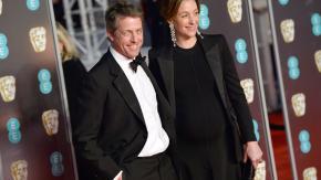 Hugh Grant si sposa: porta all'altare la compagna Anna Eberstein