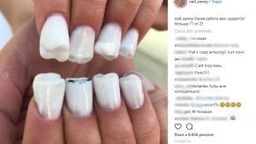 Unghie a forma di denti: ecco la nuova tendenza beauty