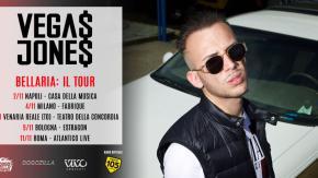 Radio 105 in tour con Vegas Jones