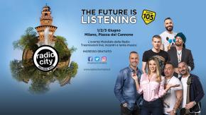 Radio 105 a RadioCity: ecco tutti i nostri appuntamenti