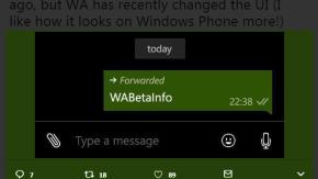 Importante novità di WhatsApp: un'etichetta indicherà i messaggi inoltrati