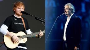 Ed Sheeran e Andrea Bocelli: duetto a Wembley su Perfect