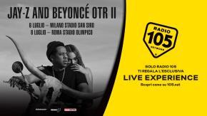 """Regolamento: """"VIVI UN'ESCLUSIVA LIVE EXPERIENCE AL CONCERTO DI JAY-Z E BEYONCE' CON RADIO 105"""""""