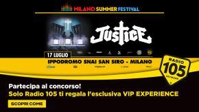 """Partecipa al concorso e prova a vincere una """"Vip Experience"""" al concerto dei Justice"""