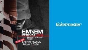 Con Ticketmaster al concerto di Eminem il 7 luglio a Milano!