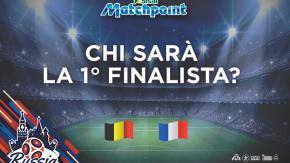 Francia prima finalista, a 1.75 su Sisal Matchpoint!
