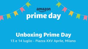 Arriva a Milano l'Unboxing Prime Day, l'evento dedicato ai benefici Amazon Prime: due giorni per celebrare insieme l'arrivo di Prime Day!