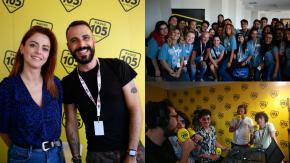Radio 105 al Giffoni Film Festival: le foto della quarta giornata con Annalisa