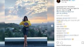 Georgina posa nella casa con vista su Torino di Cristiano Ronaldo