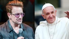 """Bono e l'incontro con Papa Francesco: """"Abbiamo avuto un innamoramento reciproco"""""""