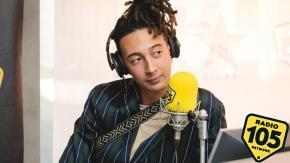A 105 Mi Casa c'era Ghali: le foto dell'intervista