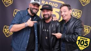 Federico Zampaglione a 105 Friends: le foto dell'intervista