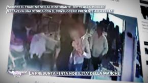 La moglie lo tradisce con il consuocero: scoppia la rissa in un ristorante di Chieti