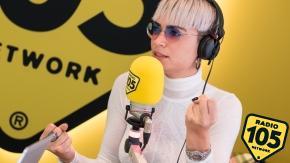 Elodie a 105 Friends: le foto dell'intervista