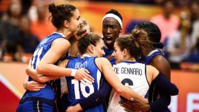 Mondiali di pallavolo femminile, l'Italia vola in finale