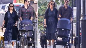 Le prime foto di Pippa Middleton con il bambino