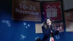 Cristina D'Avena all'inaugurazione del primo pop-up store di Amazon in Italia!
