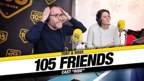 105 FRIENDS CAST RIDE 26-11-2018