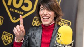 Giorgia, le foto dell'intervista a 105 Friends