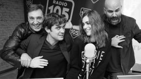 Riccardo Scamarcio e Miriam Leone, le foto dell'intervista a 105 Friends