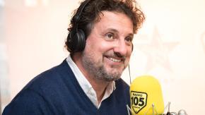 Leonardo Pieraccioni, le foto dell'intervista a 105 Mi Casa