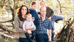 Royal Family: William e Kate mostrano la foto della loro cartolina di Natale