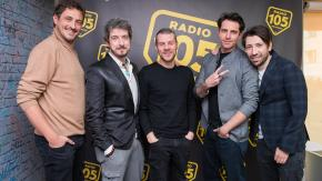 """Il cast del film """"L'agenzia dei bugiardi"""", le foto dell'intervista a 105 Mi Casa"""