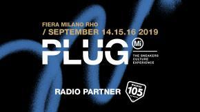 Radio 105 è radio partner di PLUG-Mi, l'evento italiano che celebra il mondo delle sneakers