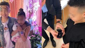 La figlia di Kim Kardashian ha già un fidanzatino che le regala gioielli