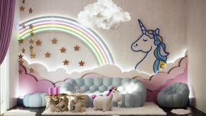 """Apre a Milano la """"Unicorn House"""", la prima casa per i fan degli unicorni"""
