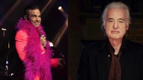 """Robbie Williams scrive a Jimmy Page: """"Facciamo pace e pubblichiamo una canzone insieme"""""""