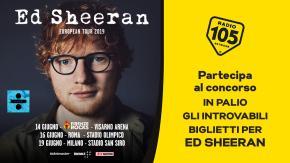 Partecipa al concorso e potresti vincere gli introvabili biglietti per i concerti di Ed Sheeran!