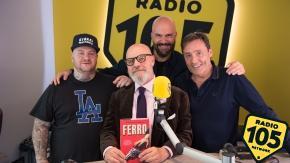 Jake La Furia e Gianpietro Vigorelli a 105 Friends: le foto dell'intervista