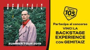 """Partecipa al concorso per vincere la """"Backstage Experience"""" ai concerti di Gemitaiz!"""