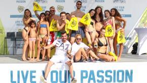 EA7 Emporio Armani Sportour: la tappa Summer Tour di Ostia