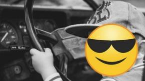 A 8 anni si mette alla guida in autostrada a 140 km/h