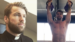Prete sexy diventa una star su Instagram