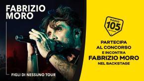 Partecipa al concorso e potresti incontrare Fabrizio Moro nel backstage !