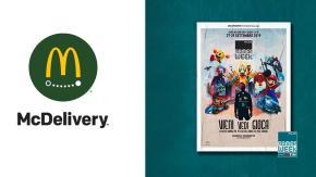 I giocatori più bravi conoscono le mosse migliori… come ordinare da McDonald's con McDelivery!