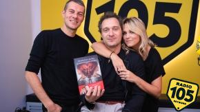 """Claudio Santamaria e Francesca Barra a 105 Mi Casa per presentare il libro """"La giostra delle anime"""""""
