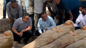 """Scoperte 20 bare egizie vicino a Luxor: """"il più grande ritrovamento degli ultimi anni"""""""