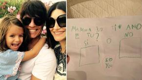 Il dolce messaggio della figlia di Laura Pausini per farsi perdonare