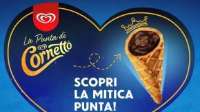 """La Punta del Cornetto diventa uno snack: un """"piccolo grande mito"""""""