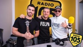 Manuel e Juliàn Turizo a 105 Mi Casa: le foto dell'intervista!