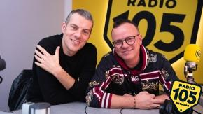 Gigi D'Alessio a 105 Mi Casa: le foto dell'intervista!