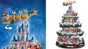 Ecco l'albero di Natale Disney con tutti i personaggi