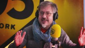 """Rocco Tanica a 105 Mi Casa per presentare il libro """"Lo sbiancamento dell'anima"""""""