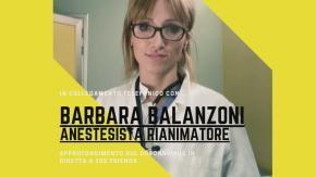 Coronavirus: la Dottoressa Barbara Balanzoni, anestesista rianimatore, ne parla a 105 Friends